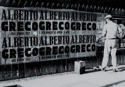Alberto Greco, 'Alberto Greco: ¡Qué grande sos!', 1691