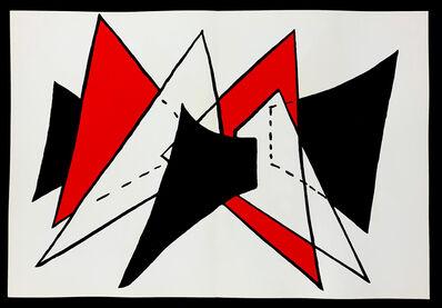 Alexander Calder, 'Derriere Le Miroir No. 141 Stabile 2', 1963