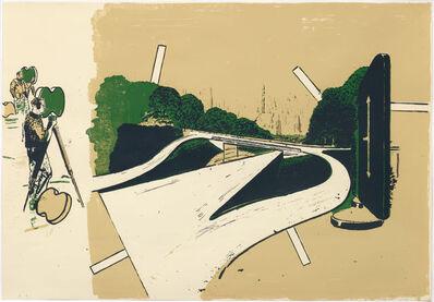 Neo Rauch, 'Ankunft', 1997