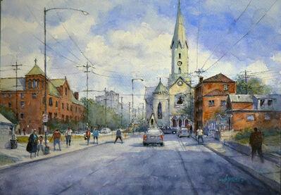 Judy Mudd, 'Commute at St. Martin', 2018