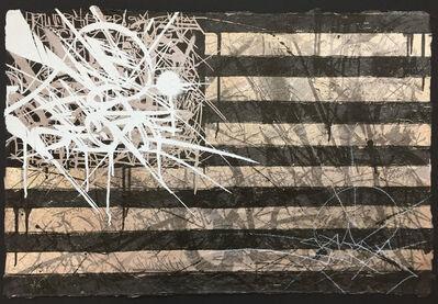 Saber, 'Flag 2010 (Black/White)', 2010