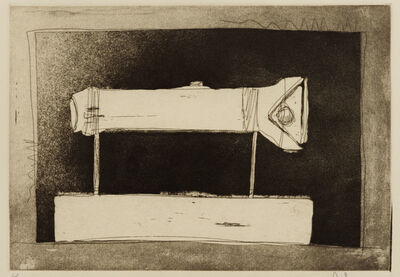 Jasper Johns, 'Flashlight, 1st Etchings, 2nd State', 1967-1969