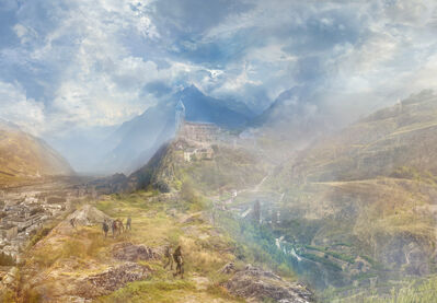Hiroyuki Masuyama, 'J.M.W. Turner  A Village In The Alps (Sion Near The Simplon) 1846', 2014