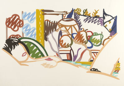 Tom Wesselmann, 'Monica Nude with Cezanne', 1990-1995
