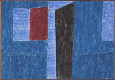 Alfredo Volpi, 'Fachadas [Window dressing]', déc. 1960