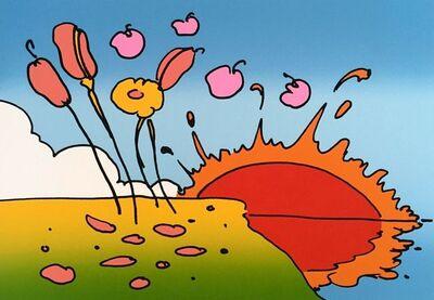 Peter Max, 'Space Landscape', 1978