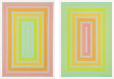 Richard Anuszkiewicz, 'Rosafied; and Veridified', 1971