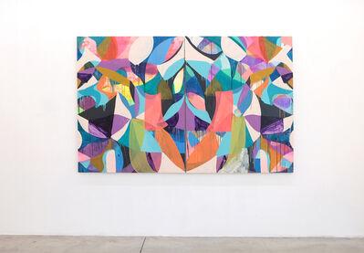 Maya Hayuk, 'FLOW CHART', 2017-2019