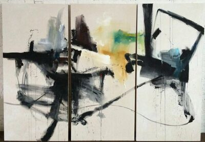 Vicky Barranguet, 'Keep Right (Triptych)', 2015