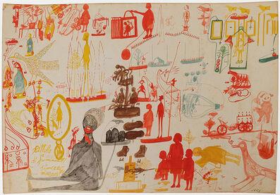 Carlo Zinelli, 'Untitled', 1956
