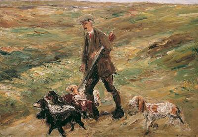 Max Liebermann, 'Hunter in the Dunes', 1913