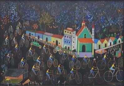 Feliciano Carvallo, 'Carrera de Bicicletas ', 1972