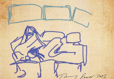 Tracey Emin, 'iPad Postcard Sketches', 2013