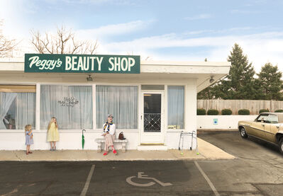 Julie Blackmon, 'Peggy's Beauty Shop', 2015