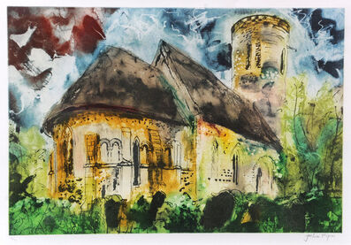 John Piper, 'Hales, Norfolk', 1989