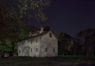 Jeanine Michna-Bales, 'Look for the Gray Barn Out Back. Joshua Eliason Jr. barnyards and farmhouse, with a tunnel leading underneath the road to another station. Centerville, Indiana', 2013