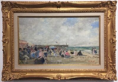 Francois Gall, 'The Beach at Le Treport'