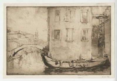 Donald Shaw MacLaughlan, 'Song from Venice, No.3', 1913