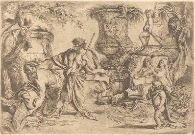 Giovanni Benedetto Castiglione, 'Temporalitas Aeternitas', 1655