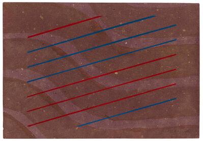 Bice Lazzari, 'Righe oblique (Righe oblique)', 1973