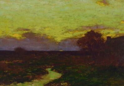 Bruce Crane, 'Sunset Skies'