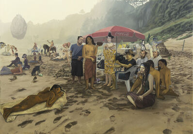 Kwon Neung, 'Artistice Beach ', 2015