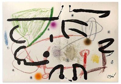 Joan Miró, 'Maravillas con Variaciones Acrosticas', 1975