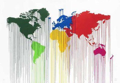 Zevs, 'Liquidated Atlas World Wide (XL)', 2010