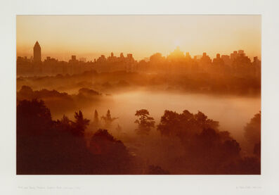 Ruth Orkin, 'Mist over Sheep Meadow, Central Park, 6:00 a.m., 1971', printed later