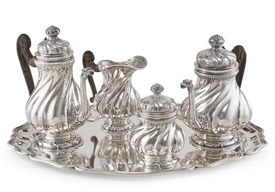 Buccellati, 'Buccellati Sterling Silver Tea & Coffee Service', 20th c.