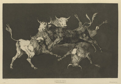 Francisco de Goya, 'Disparate de tontos [or Toritos] [Fools'—or Little Bulls'—Folly]', 1816-1819