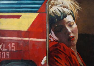 Xenia Hausner, 'Men (red)', 2020