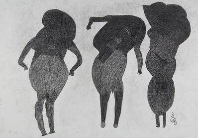 Davood Koochaki, '3 Figures (2 male)', 2015