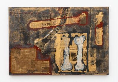 Antonio Dias, 'Dois ossos', 1986