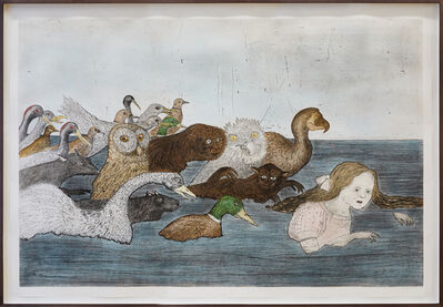 Kiki Smith, 'Pool of Tears 2', 2000