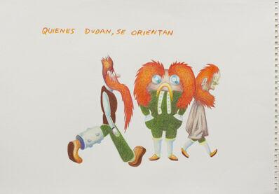 Lux Lindner, 'Quienes Dudan se Orientan', 2014