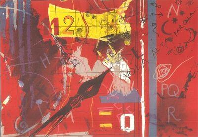 Giosetta Fioroni, 'Vola Alta Parola...', 1960s