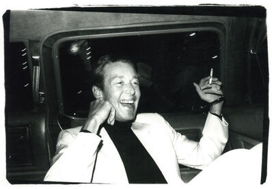 Andy Warhol, 'Andy Warhol, Photograph of Halston in a Limo circa 1979', ca. 1979