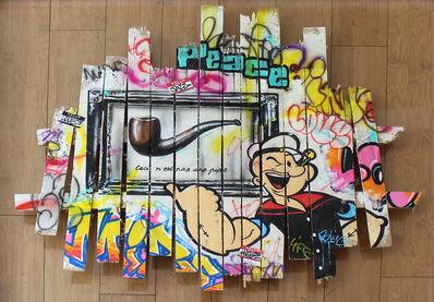 Onemizer, 'Popeye au musée', 2018