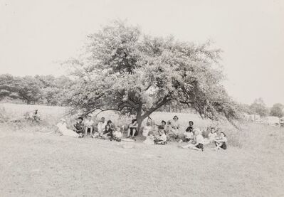 Robert Frank, 'Untitled (Group Under a Tree)', early 1950s