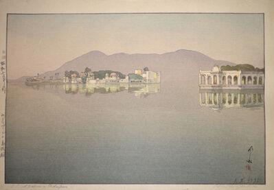 Yoshida Hiroshi, 'Island Palaces in Udaipur', 1932