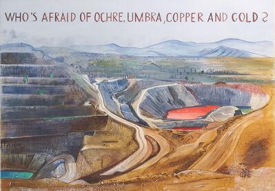 Johanna Kandl, 'Untitled (Who's afraid of ochre, umbra, copper and gold?)', 2019