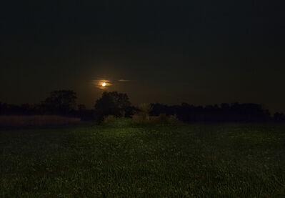 Jeanine Michna-Bales, 'Orange Moon. Adams County, Indiana', 2014