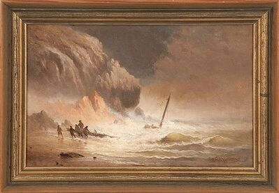 Charles Henry Gifford, 'Salvaging a Wreck', 1880