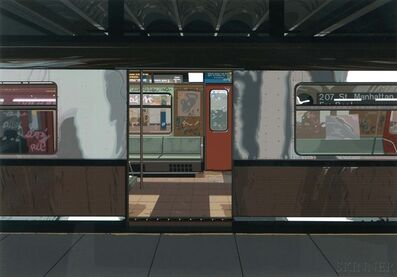 Richard Estes, 'Subway', 1981