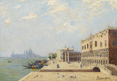 Antonietta Brandeis, 'Doge's Palace in Venice', ca. 1890