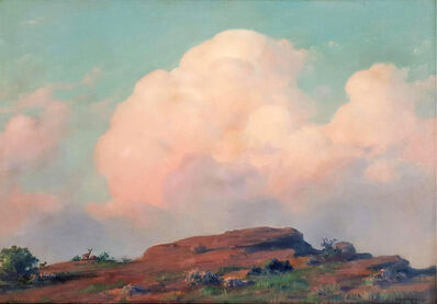 Charles Courtney Curran, 'Evening on the Summit', 1938