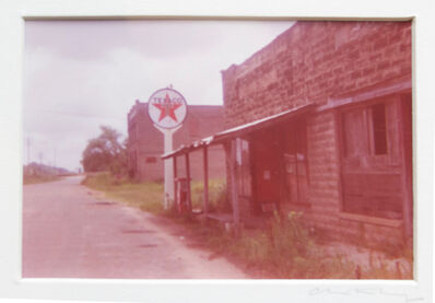 William Christenberry, 'Untitled (Texaco Sign)', ca. 1970