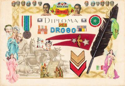 Enrico Baj, 'Illustration for Deserto dei Tartari', 1973