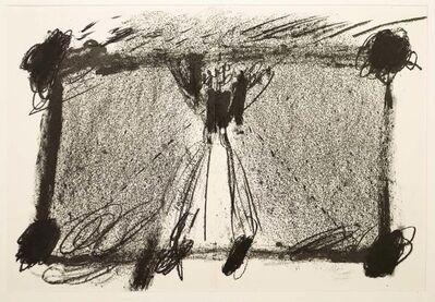 Antoni Tàpies, 'In Two Blacks', 1968